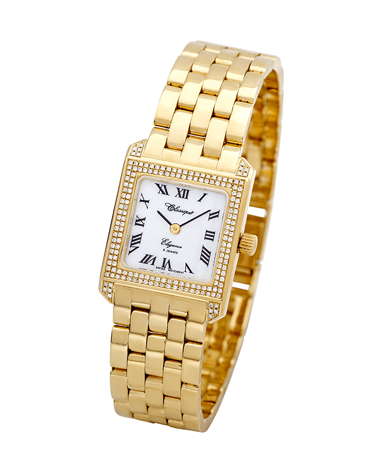 Photo of Ladies Solid Gold Diamond Watch