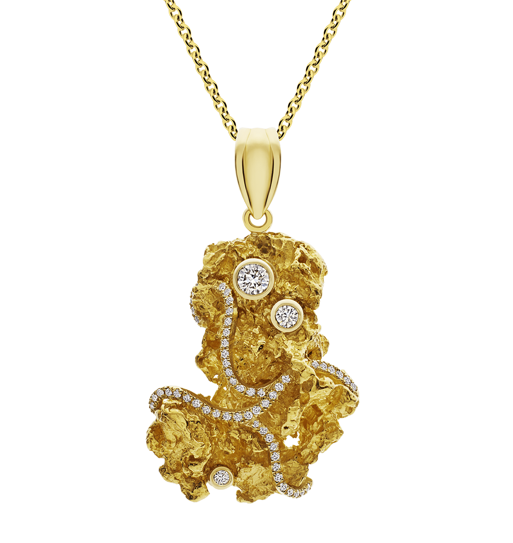 Photo of Diamond Nugget Pendant