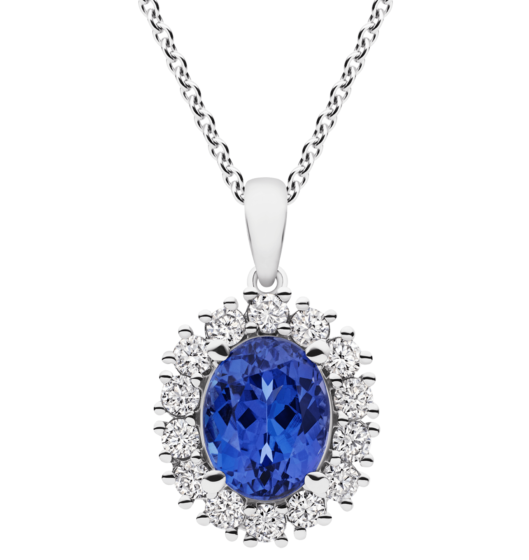 Photo of Diamond and Tanzanite Pendant